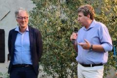 Alessio Maldini saluta il pubblico