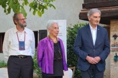 Angelo Rossi, Franca Maldini, Sergio Michelin