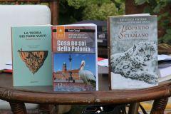 I libri dei tre vincitori premiati