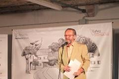 Angelo Rossi presidente dell'Associazione dei Toscani in Friuli Venezia Giulia APS ideatrice e organizzatrice del premio letterario Sergio Maldini