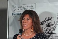 Melania LUNAZZI vincitrice del premio Sergio Maldini sezioni giornalismo di viaggio   con un reportage apparso su Meridiani Montagne nel quale ripercorre un itinerario alpino compiuto negli anni Cinquanta dal leggendario Walter Bonatti.